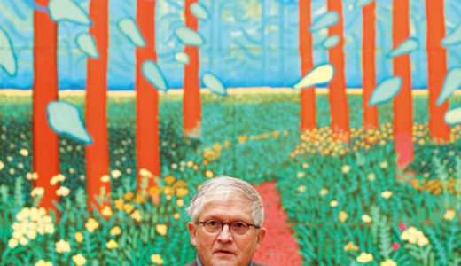 102億円のプールの絵|デイヴィッド・ホックニーは存命作品最高額!2人の人物は誰?