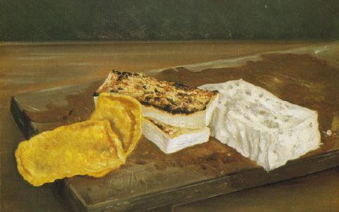 高橋由一(ゆいち)『豆腐』(金比羅宮・香川県所蔵 )食べ物を描いた理由は?